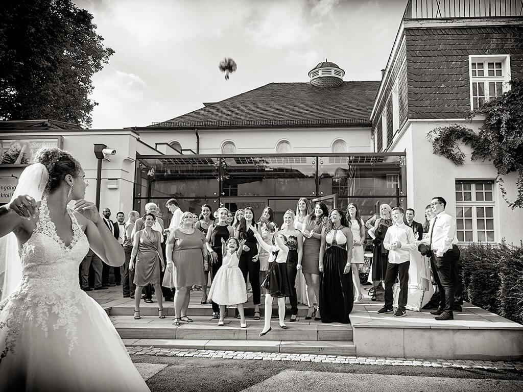 Brautstrauß Hochzeitsfotografie Fotostudio Hosenfeldt
