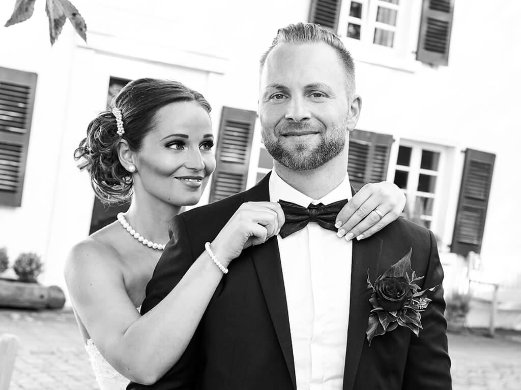 Hochzeitsfoto Ehepaar Fotostudio Hosenfeldt Wuppertal