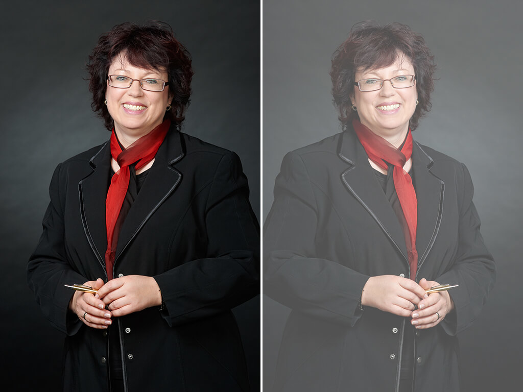 Professionelles Businessfoto Frau Fotostudio Wuppertal