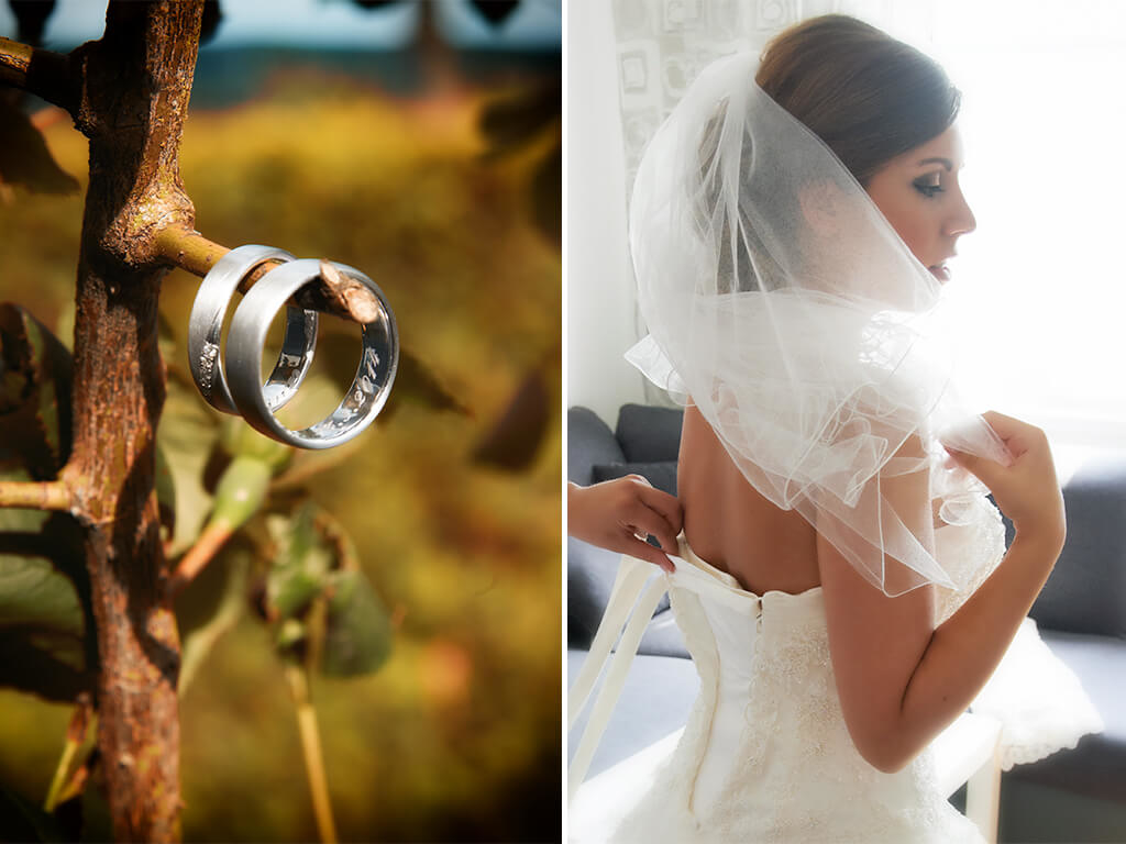 Brautshooting Hochzeitsfotografie Eheringe Fotostudio Wuppertal