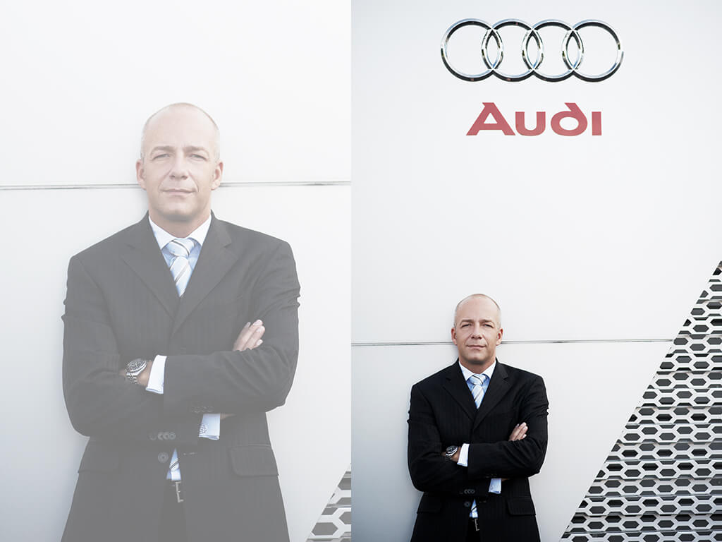 professionelles Fotoshooting Audi Fotostudio wuppertal
