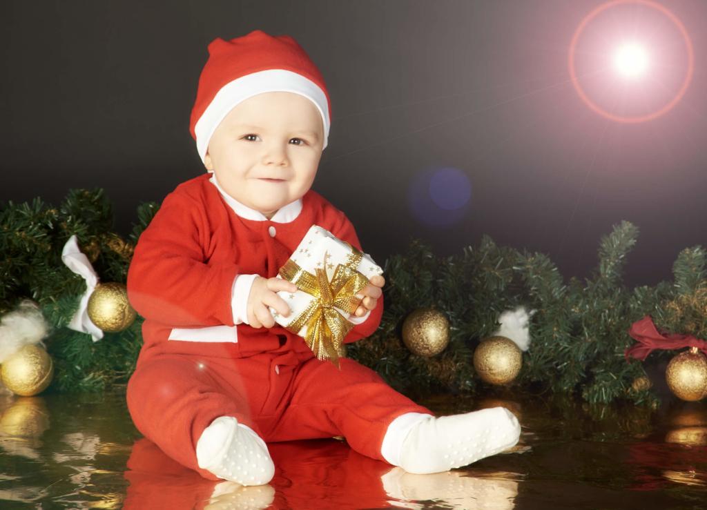 Baby Weihnachtsgeschenk Fotostudio Wuppertal