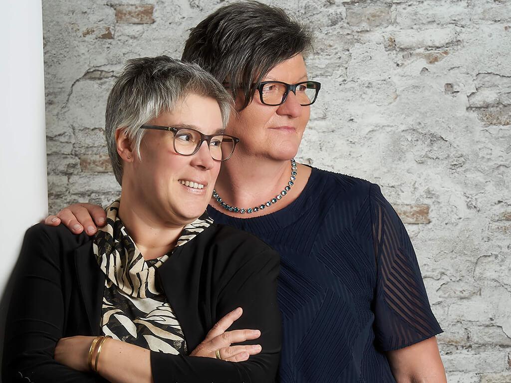 Frauenpaar Fotostudio Hosenfeldt Wuppertal