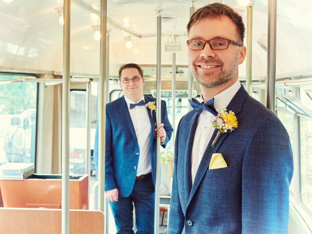 Männer Hochzeitsfotograf Wuppertal Hosenfeldt