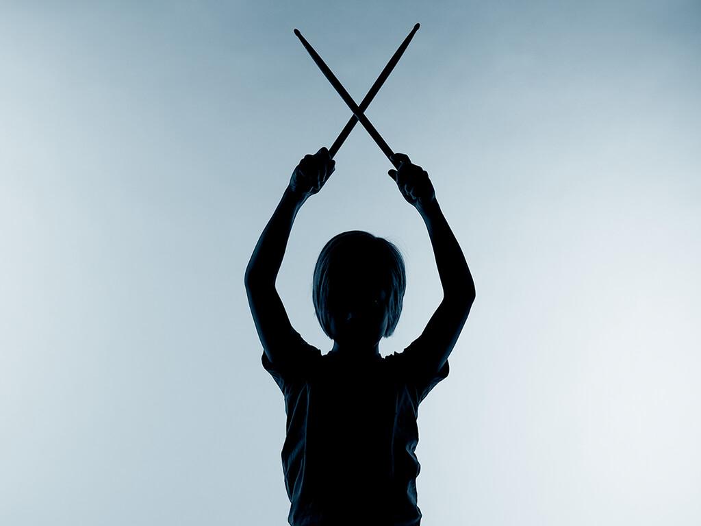 Junger Schlagzeuger Fotostudio Wuppertal Elberfeld