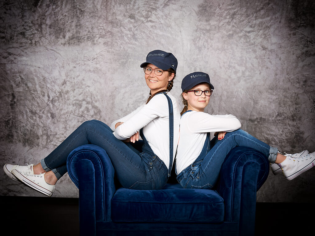 Mutter und Tochter, Fotostudio Hosenfeldt Wuppertal